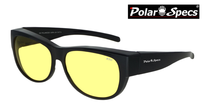 Overzetbril Polar Specs® PS5097/Shiny Black/Nightview/Medium