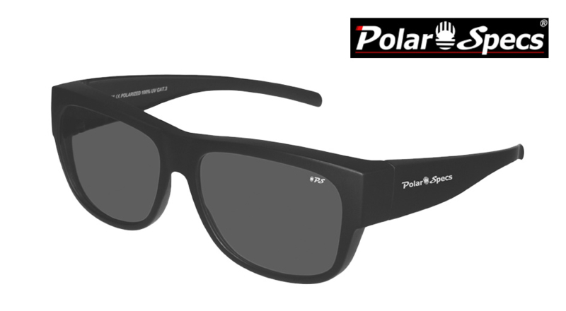 Overzetbril Polar Specs® PS5096/Mat Black/Black/Large