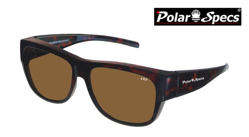 Overzetbril Polar Specs® PS5096/Tortoise Brown/Brown/Large