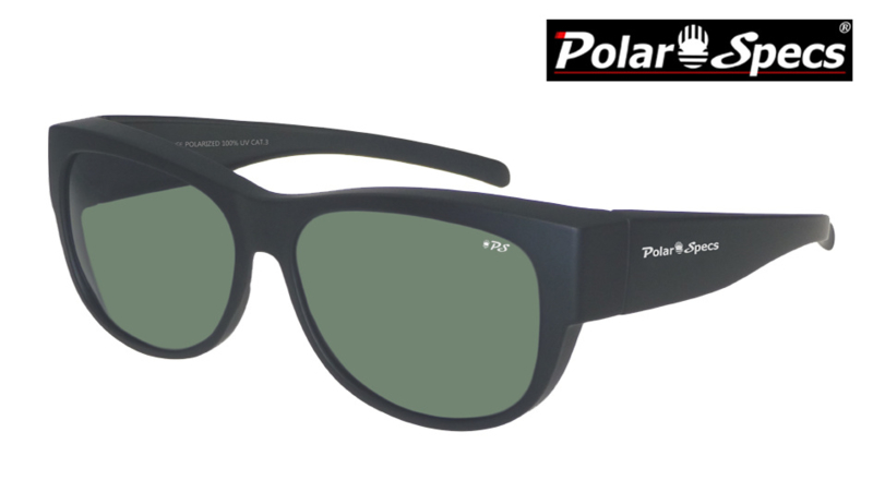 Overzetbril Polar Specs® PS5097/Mat Black/Green/Medium