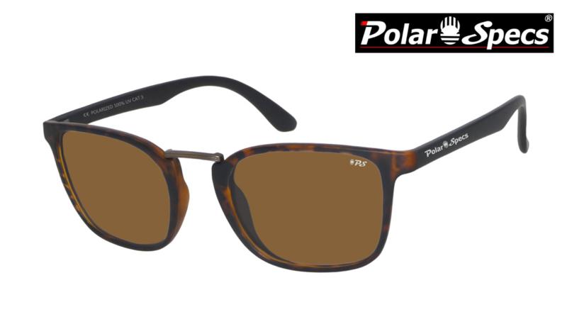 Polar Specs® Zonnebril Iconic PS9095 – Havana Bruin – Polariserend Bruin – Medium