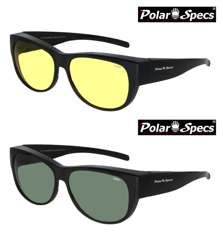 Overzetbril Polar Specs® PS5097/Shiny Black/Medium