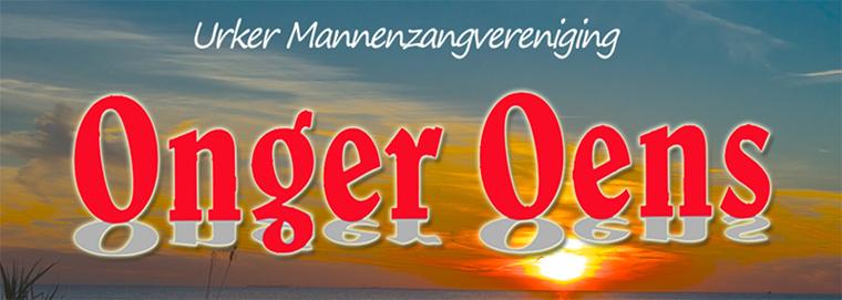 """Urker Mannenzangvereniging """" Onger-Oens"""""""