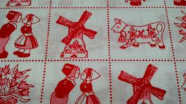 Hollandse afbeeldingen rood wit