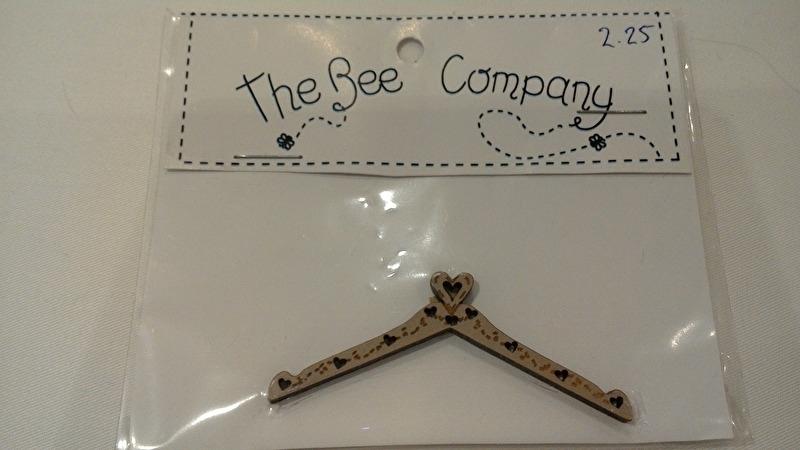 The Bee Company kleerhangertje 6 cm