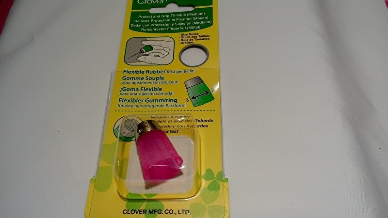 Clover rubber vingerhoed Medium