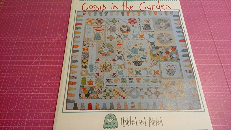 Gossip in the Garden by Anni Downs Hatched & Patched