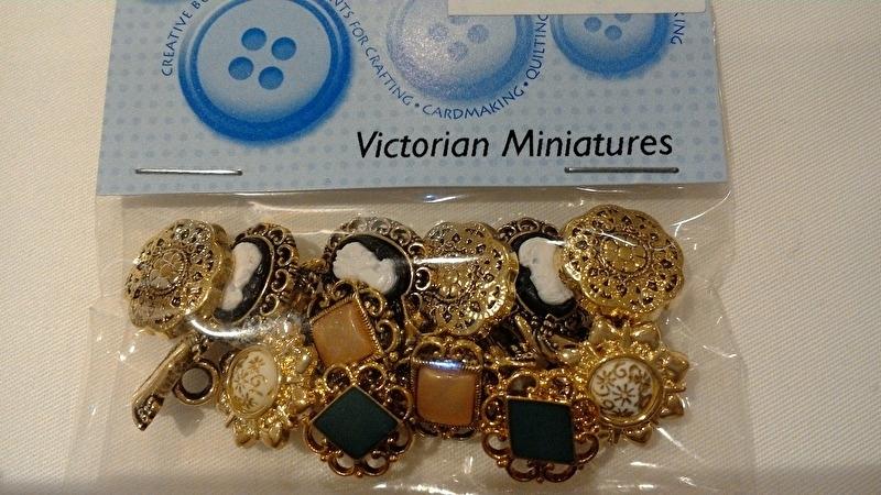 Dress It Up Victorian Miniatures zakje 8 stuks