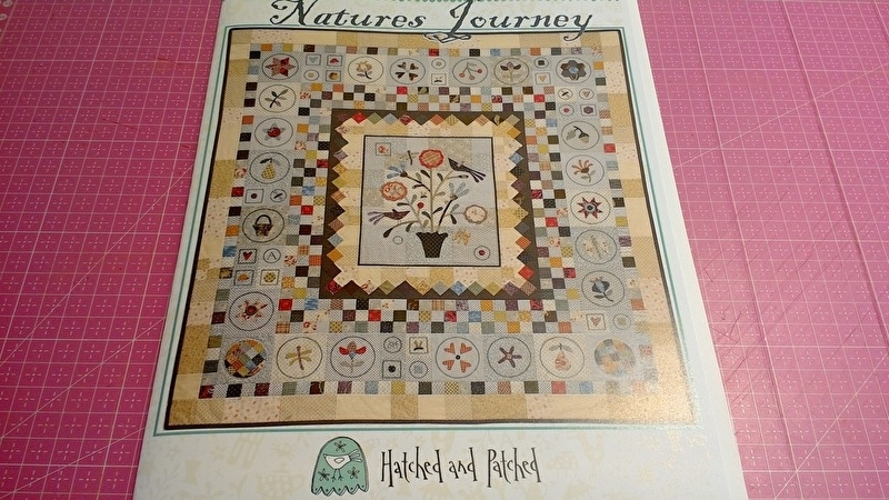 Natures Journy by Anni Downs Hatched & Patched