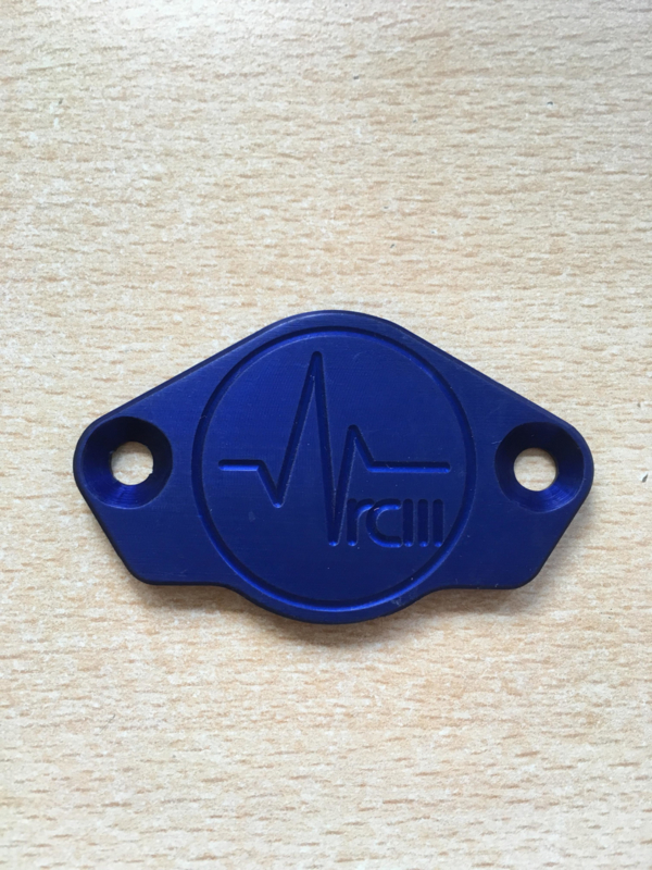 Ducati inspection cover blue