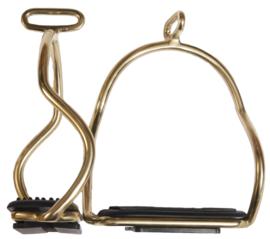 Karlslund Stijgbeugels, verguld roestvrij staal