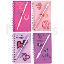 Greys Fluorescent Notebook & Pen Set