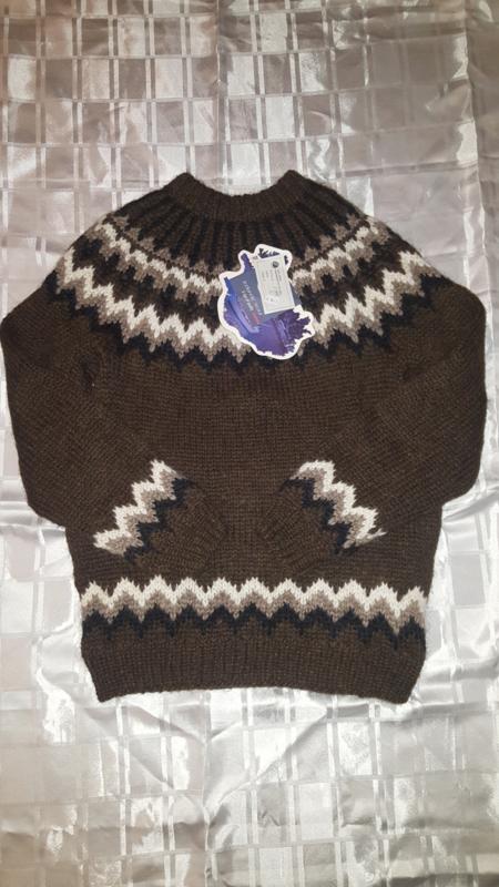 IJslandse trui    (bruin)