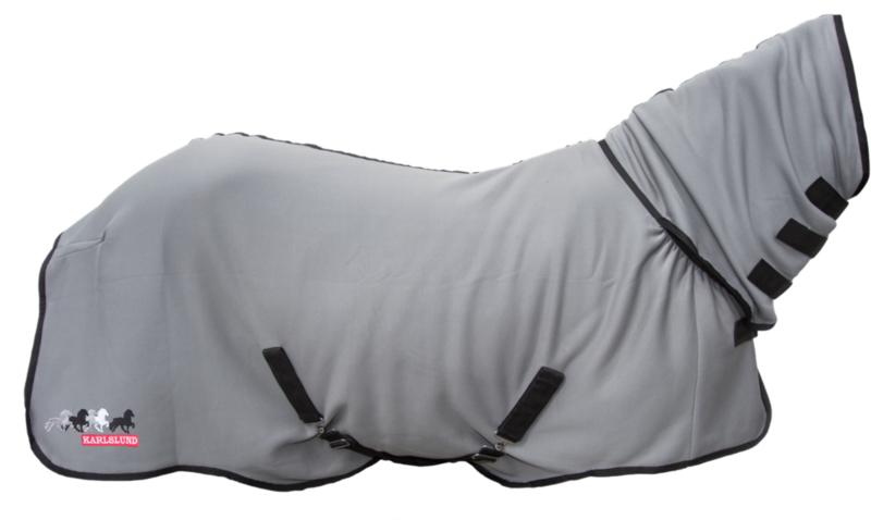 Karlslund Sneldrogend Fleecedeken met hals