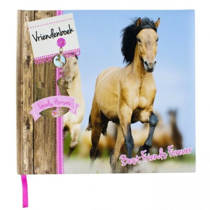Vriendenboek Paarden inclusief paarden stickers