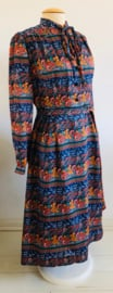 Vintage 70 jurk Fleur (40)