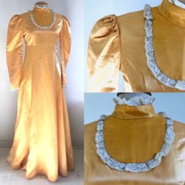 Vintage 70 ties Boho Prairie western style jurk (36)
