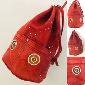 Vintage 70 ties red indian bag
