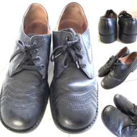 Vintage 50 ties leren heren schoen (47)