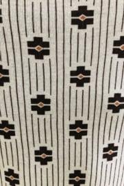 Vintage 50 ties heren hemd   ( s)