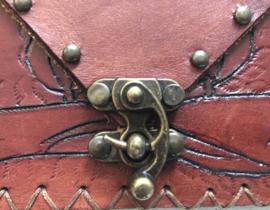 Vintage 70 ties Boho clutch