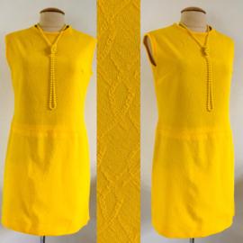 Vintage 60 ties mini jurk (38)