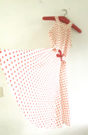 Vintage 50 ties polkadot  dress (34)