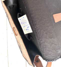 Vintage leder Russian boho bag