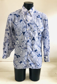 Vintage 70 ties Paisley blouse (S)