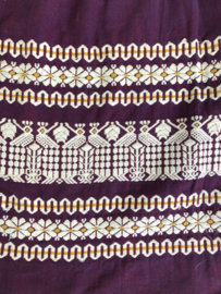 Vintage 50 ties Guatamale. Foklore  rok (40)