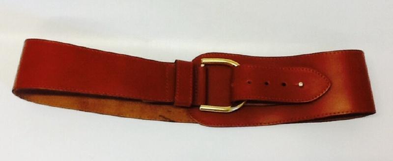 Vintage big belt Brown