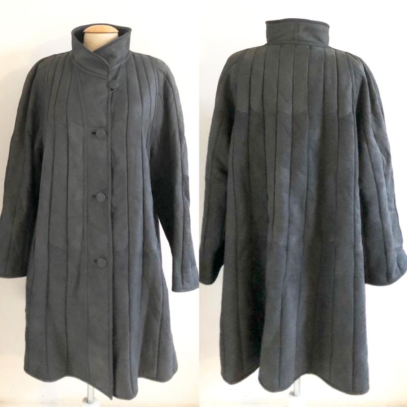 Vintage 70 ties Lammy coat mantel (42)