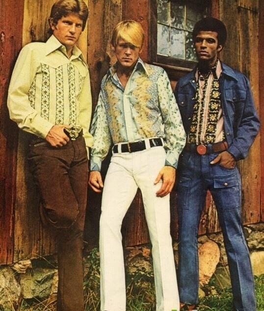 Vintage heren kleding