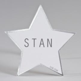 Suikerkaartje ster