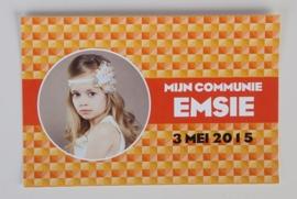 EMSIE&EMIEL - herinneringskaartje