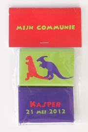 KASPER - zakje met 2 chocolaatjes van 9 gram