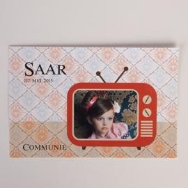 SAAR&SEB - herinneringskaartje
