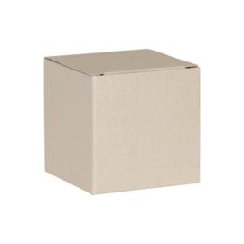 Zandkleurige kubus