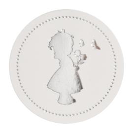 Luxe sluitzegel meisje