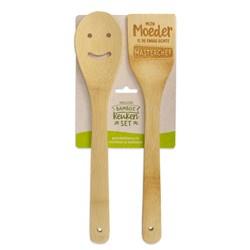 vrolijke bamboe keukenset