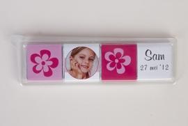 SAM - blister met 4 chocolaatjes van 5 gram