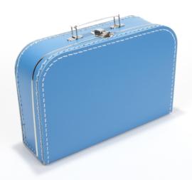 Koffertje 30cm | aquablauw