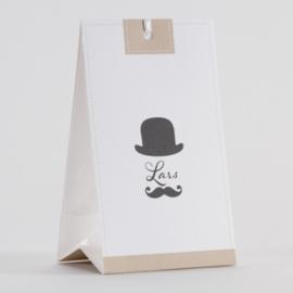 Snoepzakwikkel MR. moustache