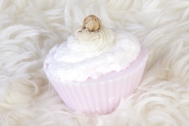 cup cake - rose