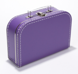 Koffertje 25cm | paars