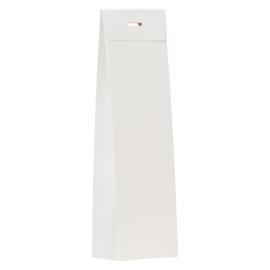 Blanco wit hoog tasje