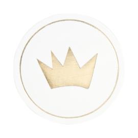 Sluitzegel gouden kroon