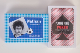NATHAN - schuifdoosje kaartspel