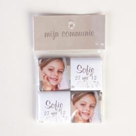 SOFIE - zakje met 4 chocolaatjes 5 gram