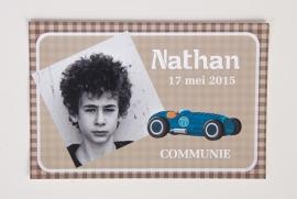 NATHAN - herinneringskaartje